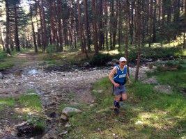 Trotando por los pinares de Guadarrama